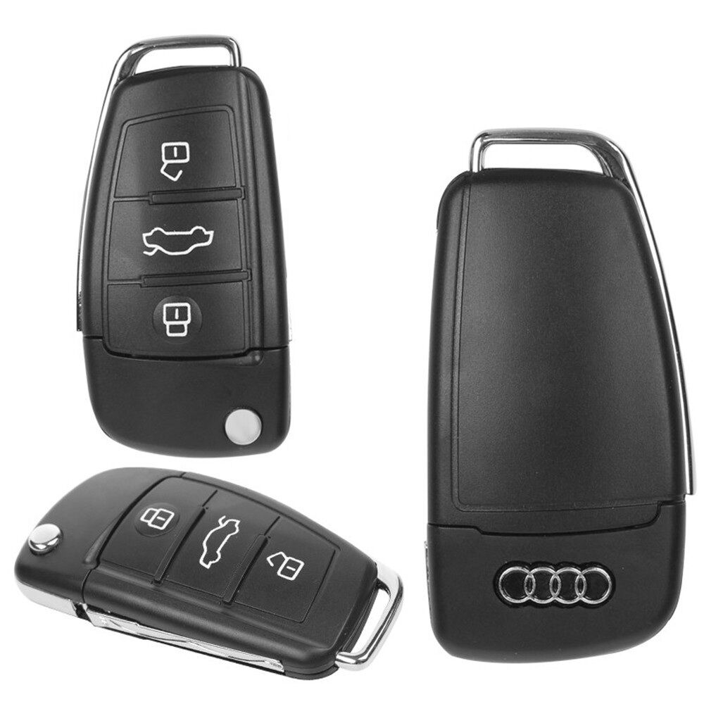 audi car key 16gb usb 2 0 flash drive memory stick ebay. Black Bedroom Furniture Sets. Home Design Ideas