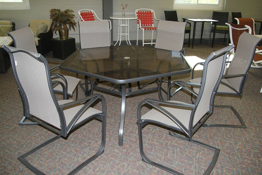 Scottsdale 7 pc Dining Set Patio Furniture