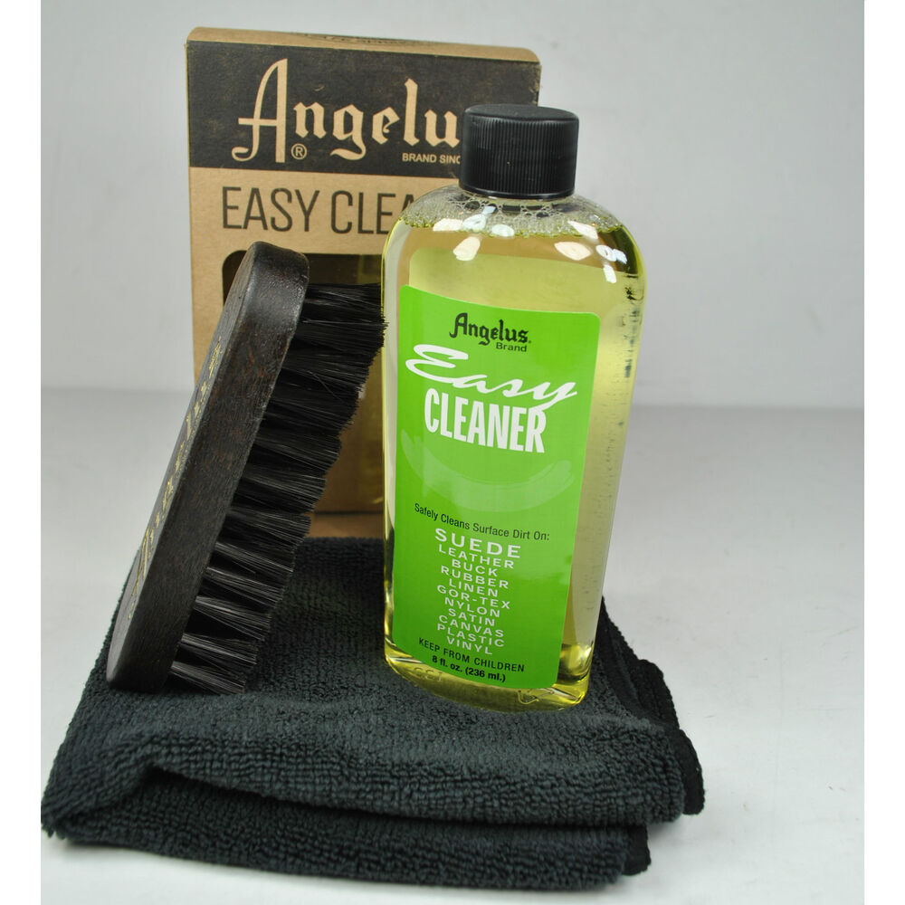 angelus easy cleaner kit suede leather shoe cleaning kit