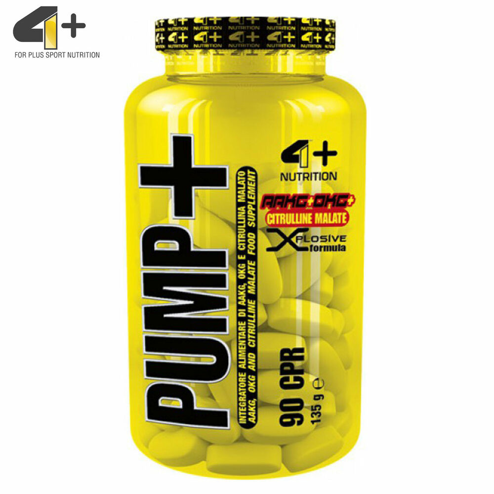 PUMP + 90 Tabl. Pre-Workout NO Booster Muscle Pump Nitric