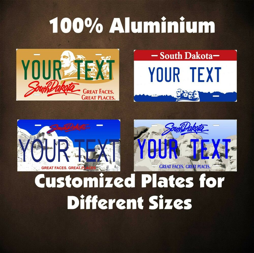 Bike license plates personalized bicycle license plates for South dakota fishing license