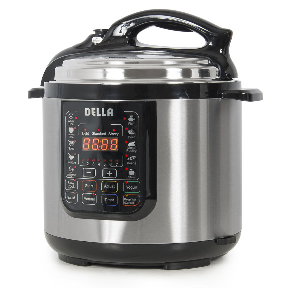 New Electric Pressure Cookers ~ New watt electric pressure cooker stainless steel