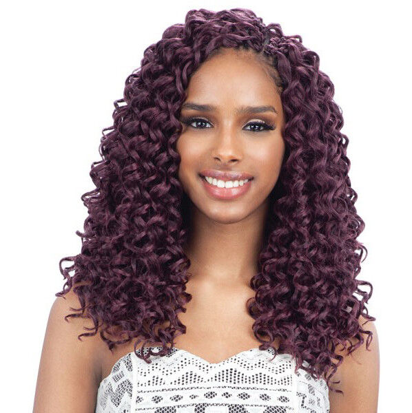 GOGO CURL 12u0026quot; - FREETRESS SYNTHETIC BRAID BULK CROCHET BRAIDING HAIR | EBay
