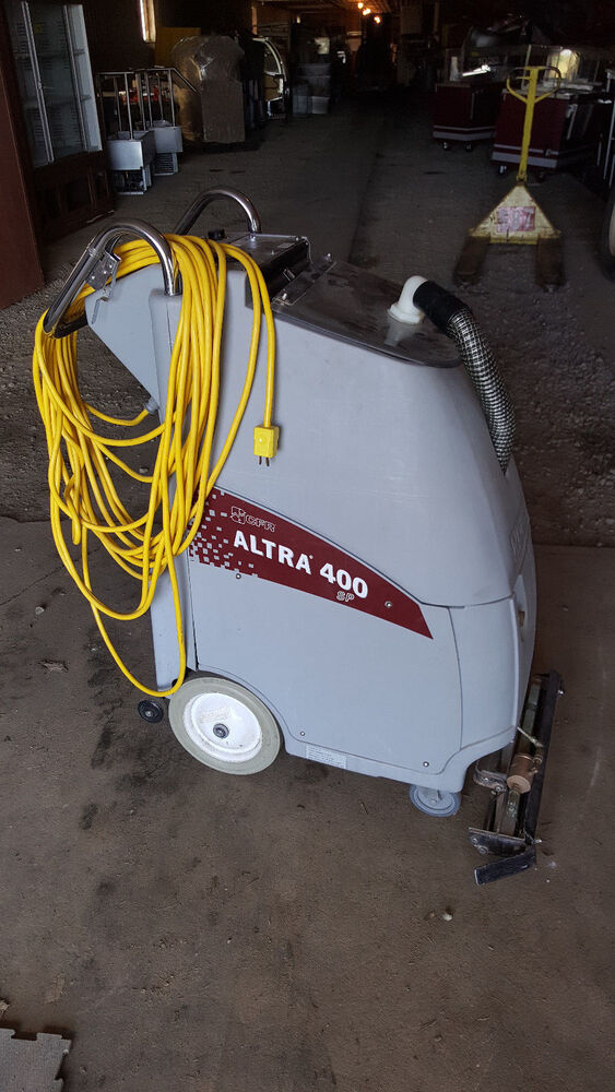 Cfr Altra 400 Sp Self Contained Carpet Extractor Vacuum