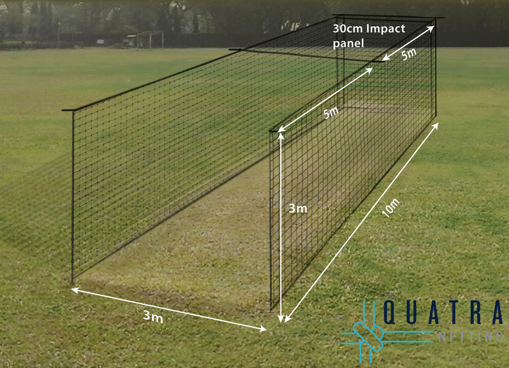 Cricket Practice Cage Net : 1 Piece Cricket Training Cage Netting W/  Curtain | EBay