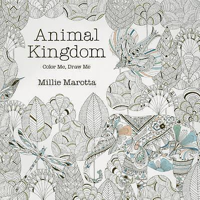 Animal Kingdom Color Me Draw Me A Millie Marotta Adult