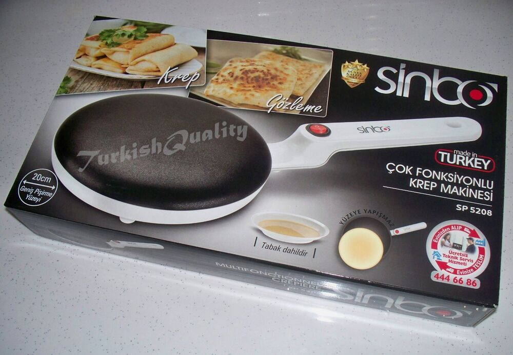 Electric Crepe Maker Machine, Pancake Griddle Cooking, Non ...