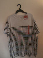 Men's Mossimo V-Neck Shirt Silver Springs Small/XXLarge New With Tags