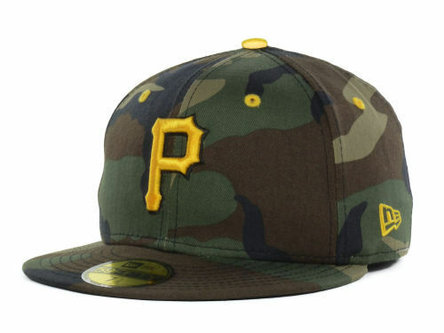 pittsburgh pirates new era 59fifty fitted mlb camo. Black Bedroom Furniture Sets. Home Design Ideas