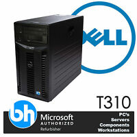 Dell Quad Core Tower Server PowerEdge T310 Xeon X3450 Anpassbar RAM HDD
