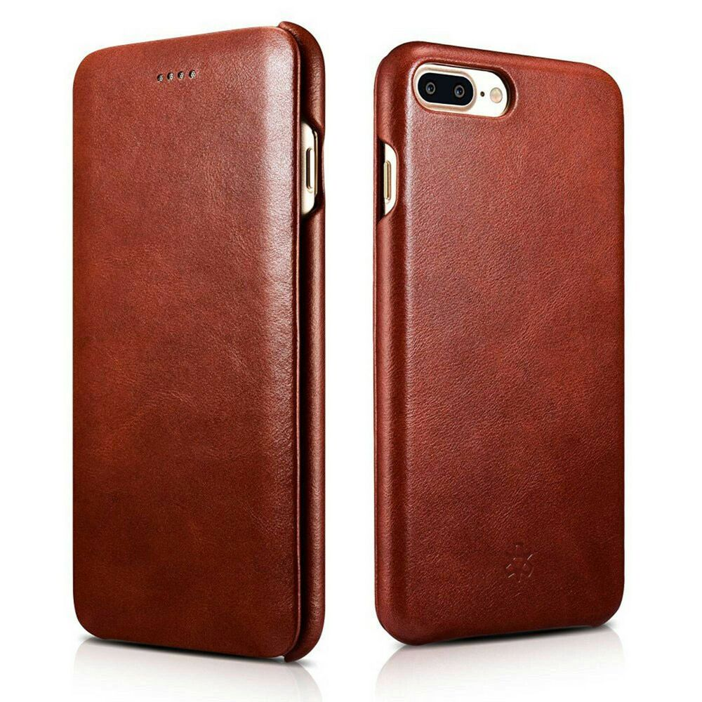 novada genuine leather flip case cover for iphone 8 plus. Black Bedroom Furniture Sets. Home Design Ideas