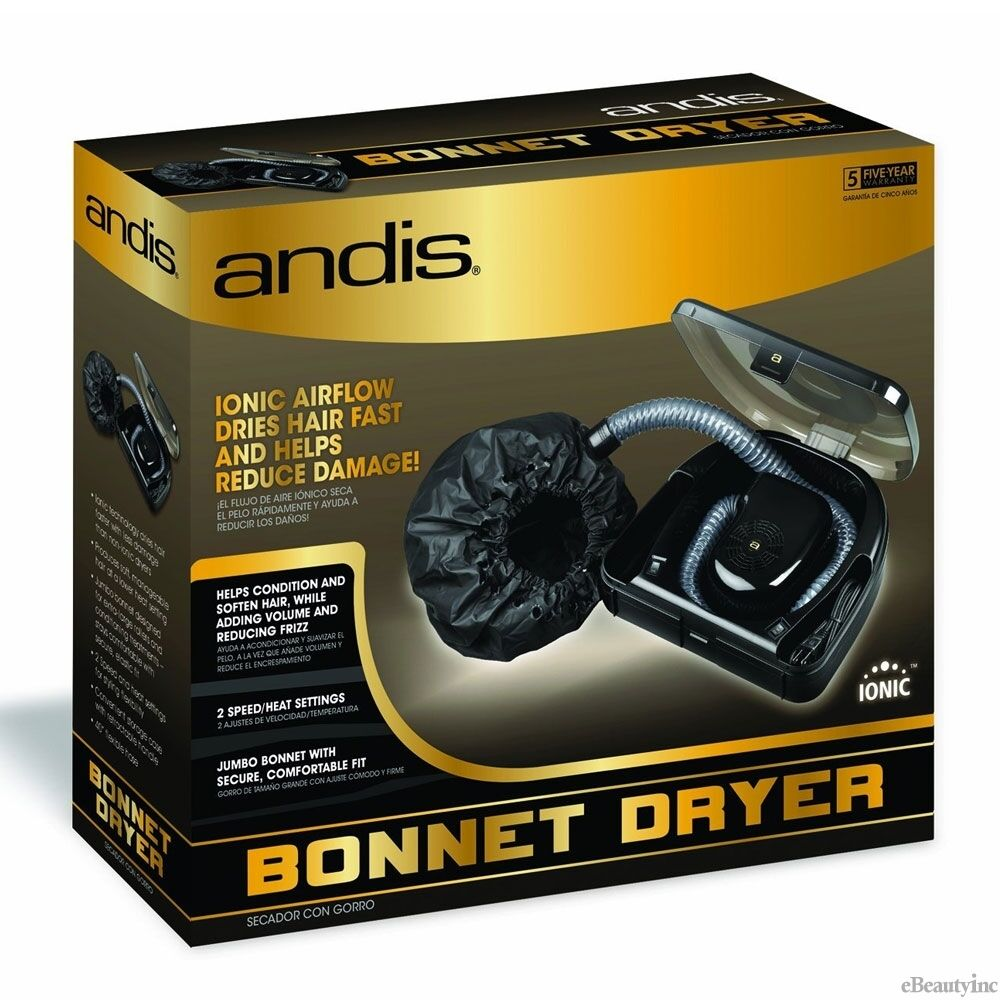 Andis Professional Ionic Bonnet Hair Dryer 80610 Ebay