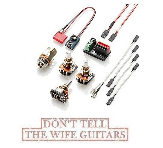 EMG Solderless Active Conversion Wiring Kit J Jazz Bass
