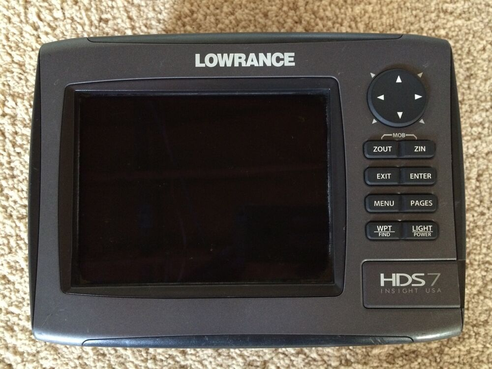 lowrance hds 7 gen 2 420024113232 ebay. Black Bedroom Furniture Sets. Home Design Ideas