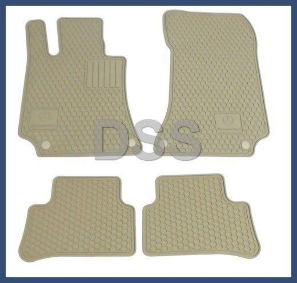 Genuine mercedes benz cls e class c218 w212 beige all for Mercedes benz e350 floor mats
