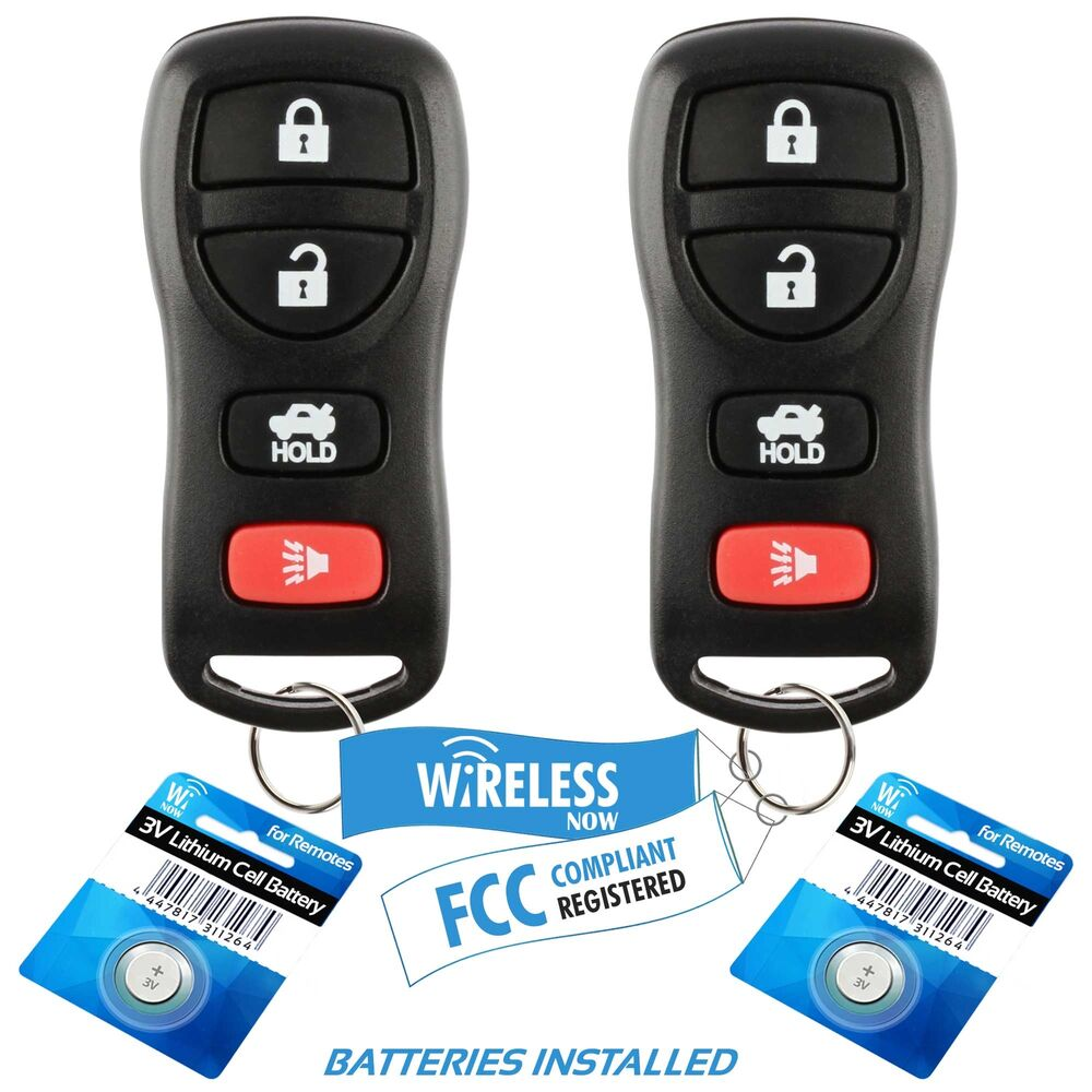 2006 Nissan Altima Key Fob 2 Replacement For 2005 2006