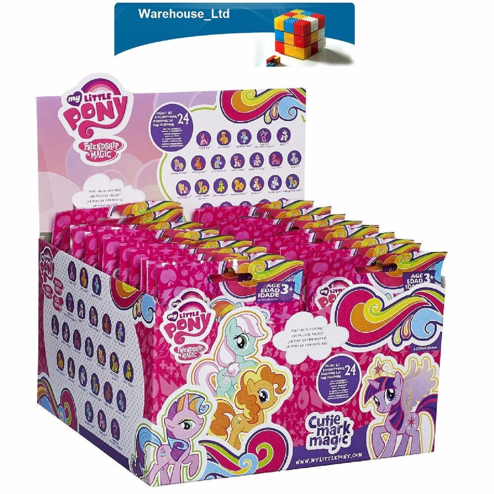 My Little Pony Blind Bags Friendship Is Magic Full Box Of