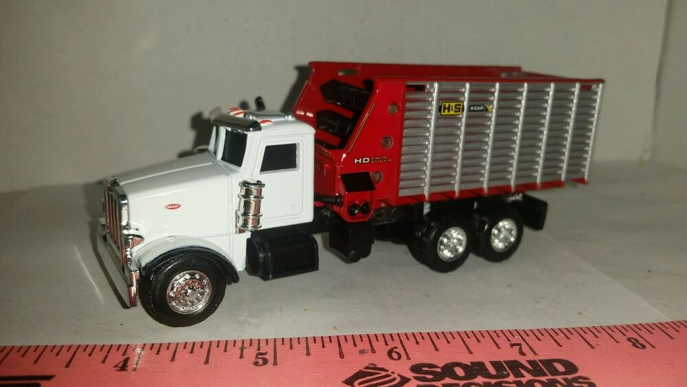Custom Toy Semi Trucks : Custom peterbilt truck with mtd h s forage chopper