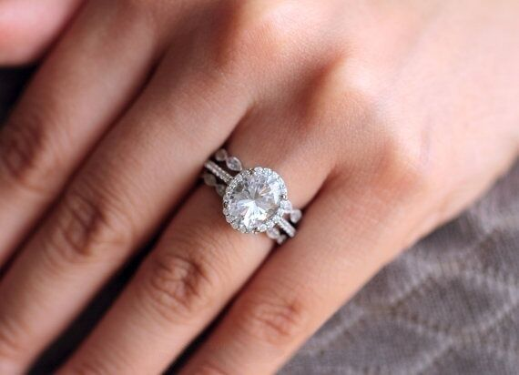 Ct White Gold Diamond Solitaire Ring