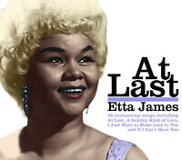 CD ETTA JAMES AT LAST SUNDAY KIND OF LOVE IF I CAN'T HAVE YOU STORMY WEATHER ETC