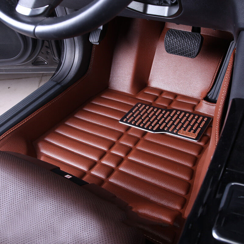 car floor mats front rear liner waterproof mat for jeep cherokee 2014 2016 ebay. Black Bedroom Furniture Sets. Home Design Ideas