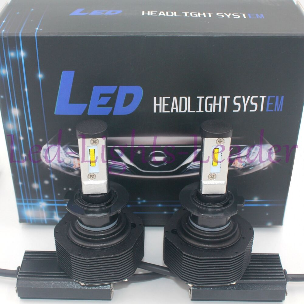 2017 180w 18000lm cree led headlight kit h7 6000k low beam bulbs pair high power ebay. Black Bedroom Furniture Sets. Home Design Ideas