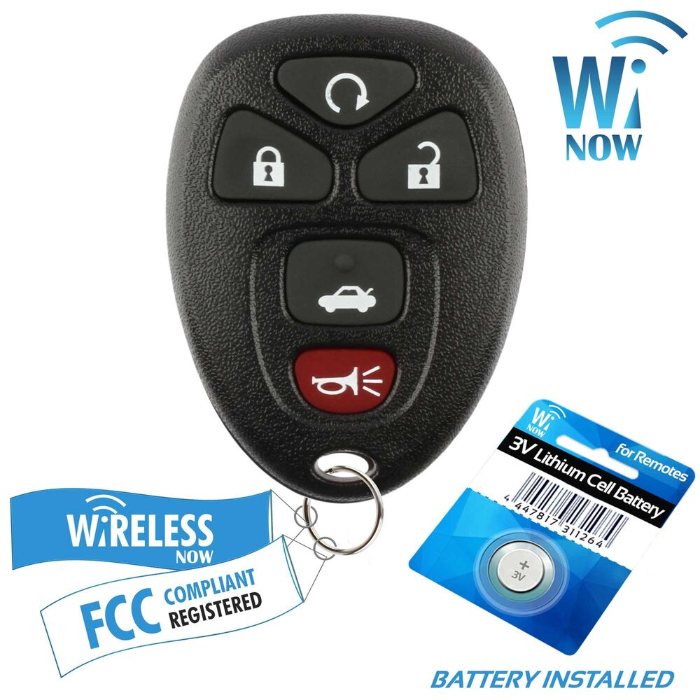 replacement for 2006 2007 2008 2009 2010 chevrolet impala car key fob remote. Black Bedroom Furniture Sets. Home Design Ideas