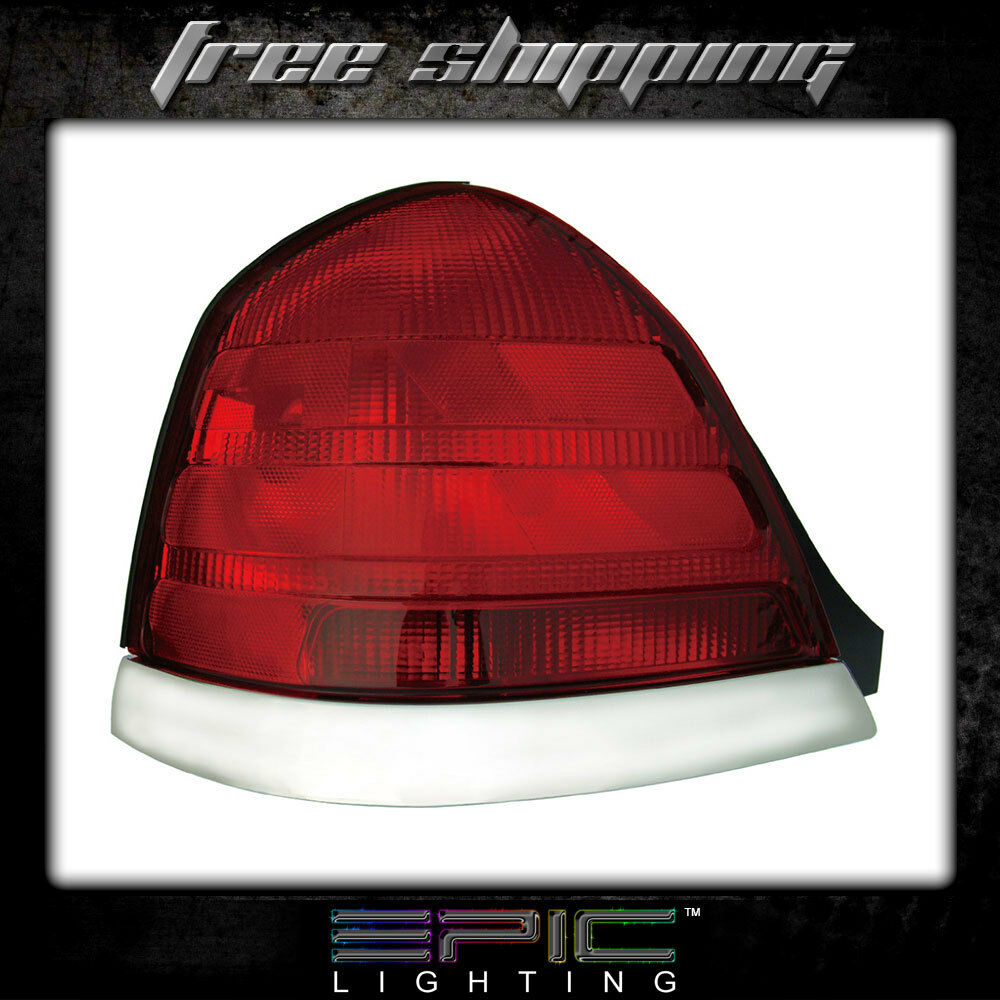 Details About Fits 99 02 Ford Crown Victoria Tail Light Lamp Driver Side Left Only