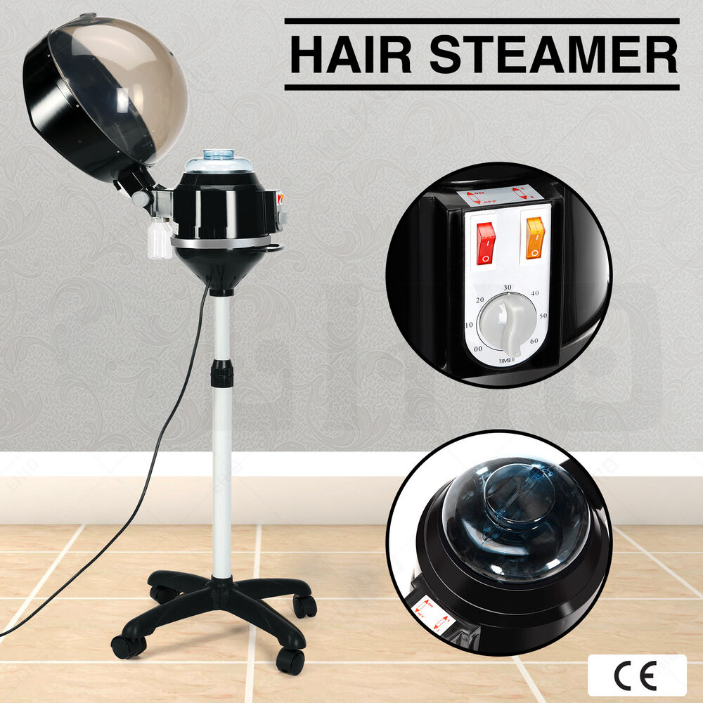 Professional Hair Steamer Rolling Stand Beauty Salon Color: Beautiful Professional Salon Hair Steamer Rolling Stand