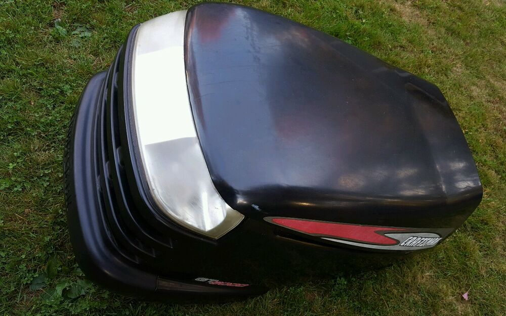 Sears Craftsman Gt5000 Lawn Mower Complete Hood Assembly