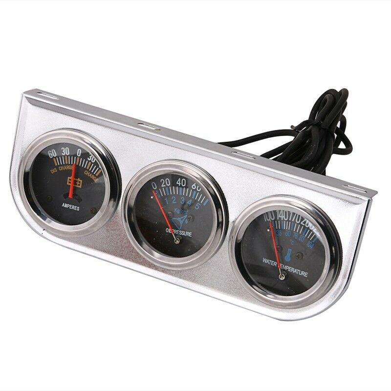 Voltmeter On Dash : Quot auto volt meter water temp oil pressure with panel