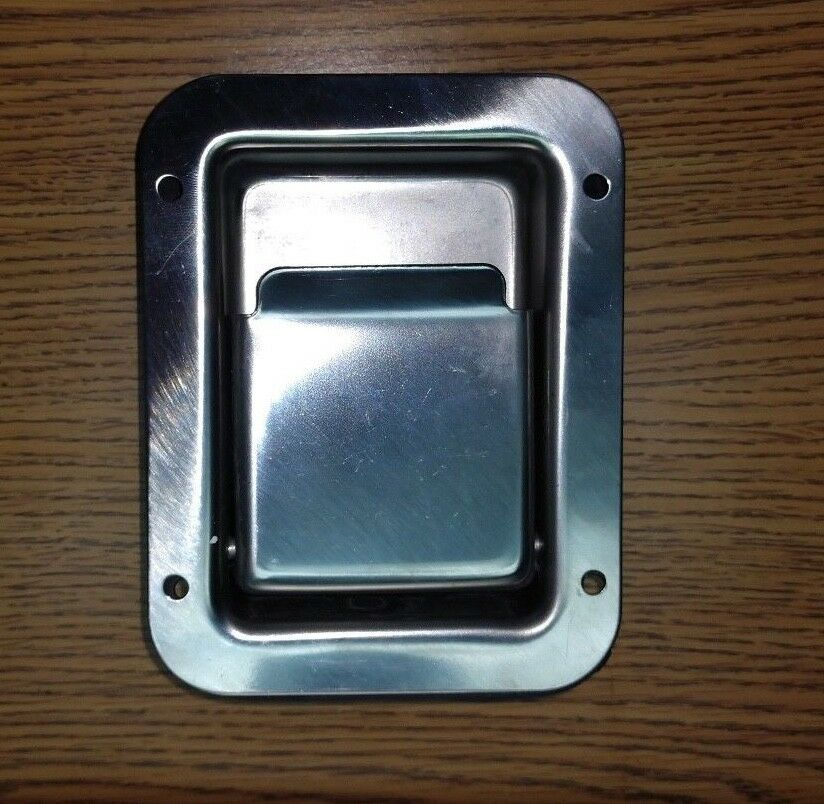 Rv Camper Stainless Steel Compartment Door Handle Latch Ebay