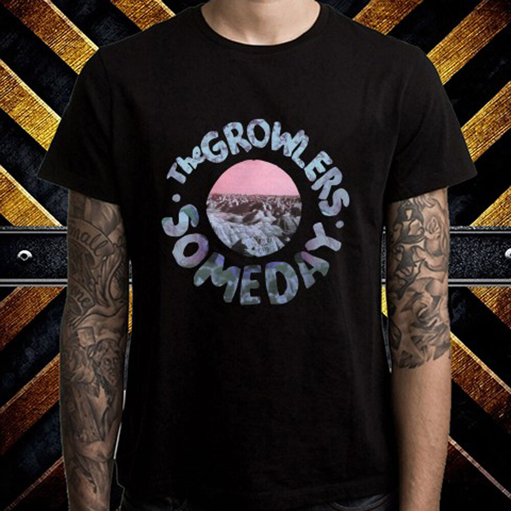 1b33e966 Details about The Growlers Someday Rock Band Logo Men's Black T-Shirt Size S  to 3XL