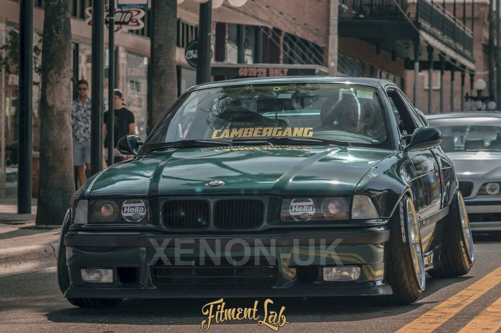 Bmw E36 Coupe Overfenders Frontrear Fitment Lab Widebody Drift