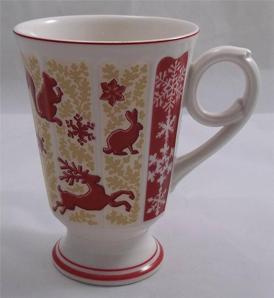 Villeroy and boch christmas my winter forest mug new ebay for Villeroy and boch christmas