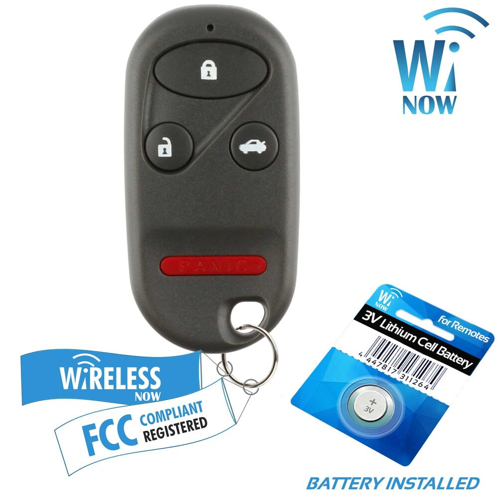 Replacement For 1998 1999 2000 2001 2002 Honda Accord Key ...