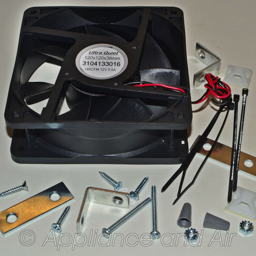 Dometic 3108705 751 Replacement Ventilator Cooling Fan Kit