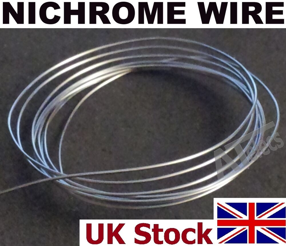 Nichrome Wire Various Gauges, Resistance Heating Element Wire - UK ...