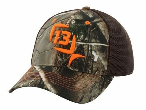 13 fishing ice mr tucker realtree camo fitted hunting hat for Fitted fishing hats