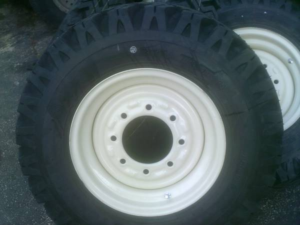 New Holland Tire Rims : Skid steer tire snow plowing tires and wheels fits