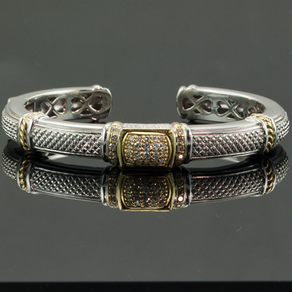 JUDITH RIPKA BRACELET - DIAMONDS, STERLING SILVER & 18K ...