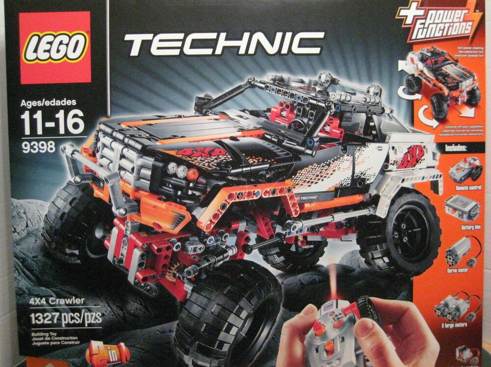 lego technic 9398 4x4 crawler 673419167017 ebay. Black Bedroom Furniture Sets. Home Design Ideas