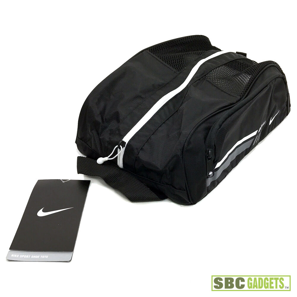 Details about  NEW  Nike Golf Unisex Sport II Shoe Tote Boot Bag - Black -  SHIP SAME DAY e738e92354