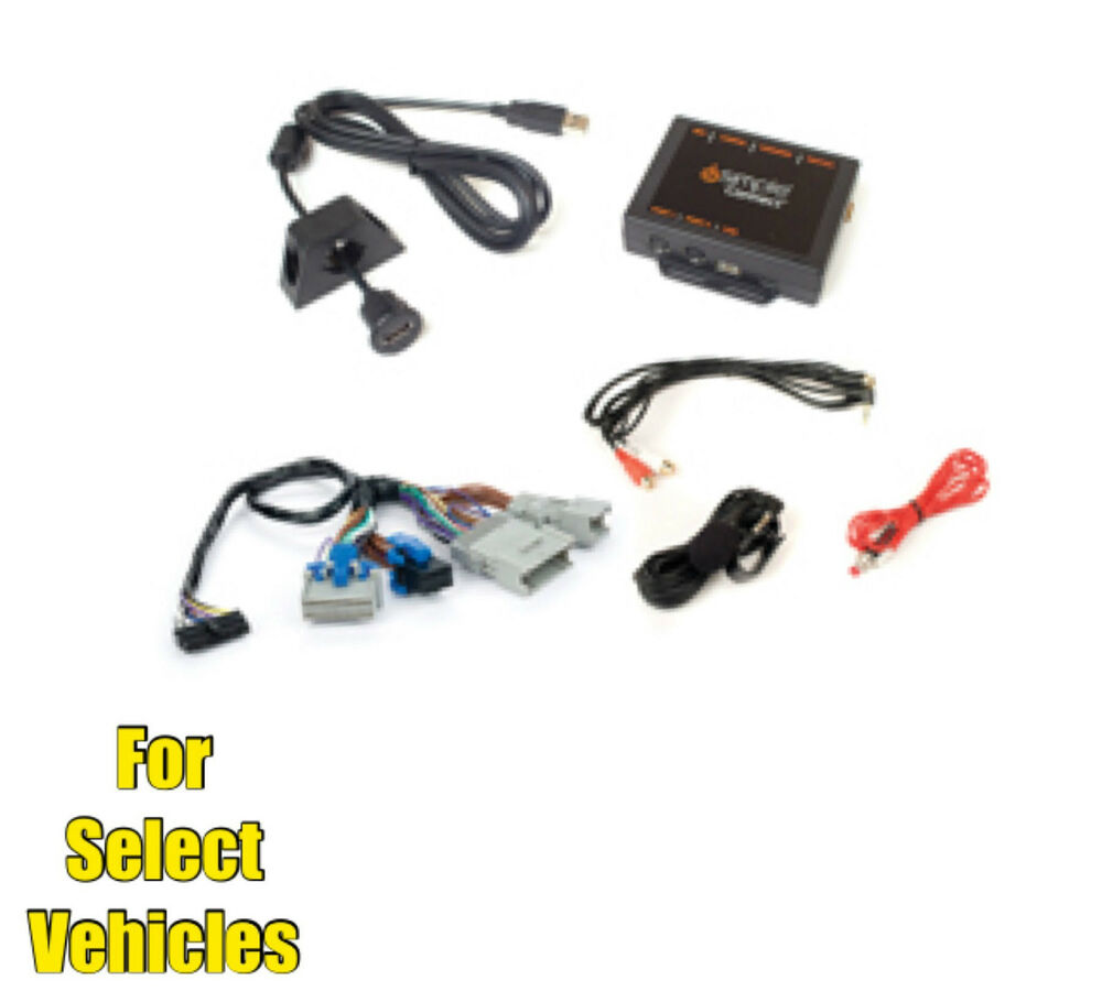 Bluetooth Link Car Kit With Aux In Interface Usb Charger: USB/BlueTooth/Aux Car Interface Kit For Some Silverado