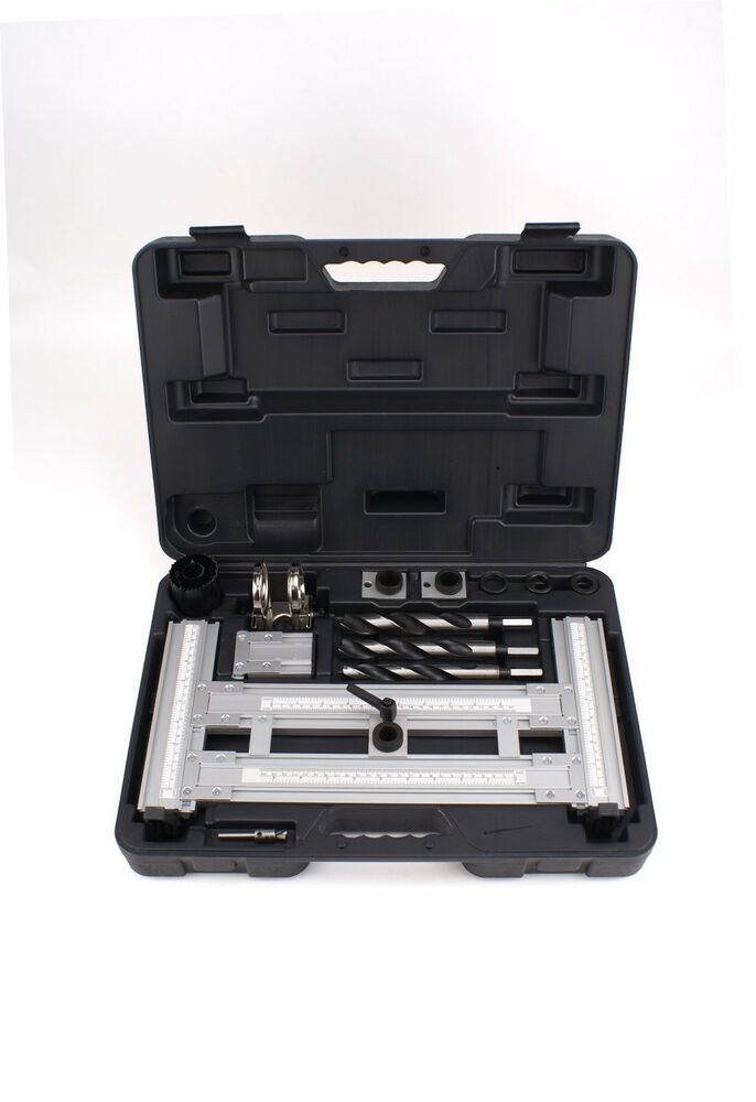 Door Lock Installation Mortising Jig Tool Kit Set