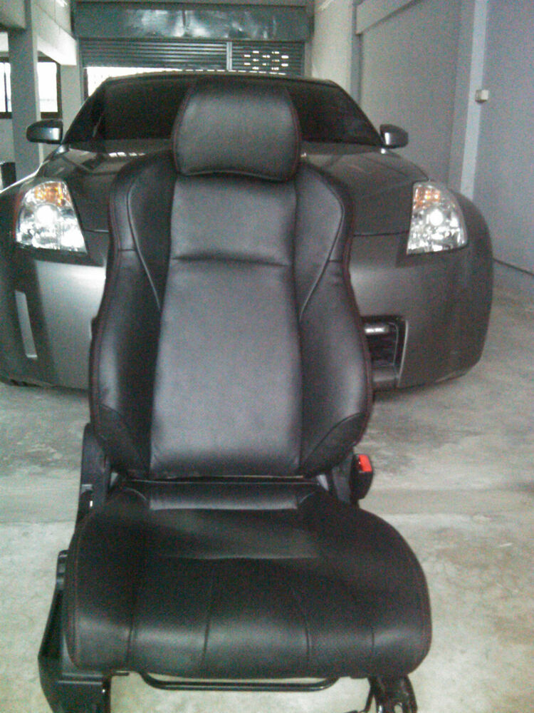 Nissan 350Z Leather Seat Covers 2003 2006