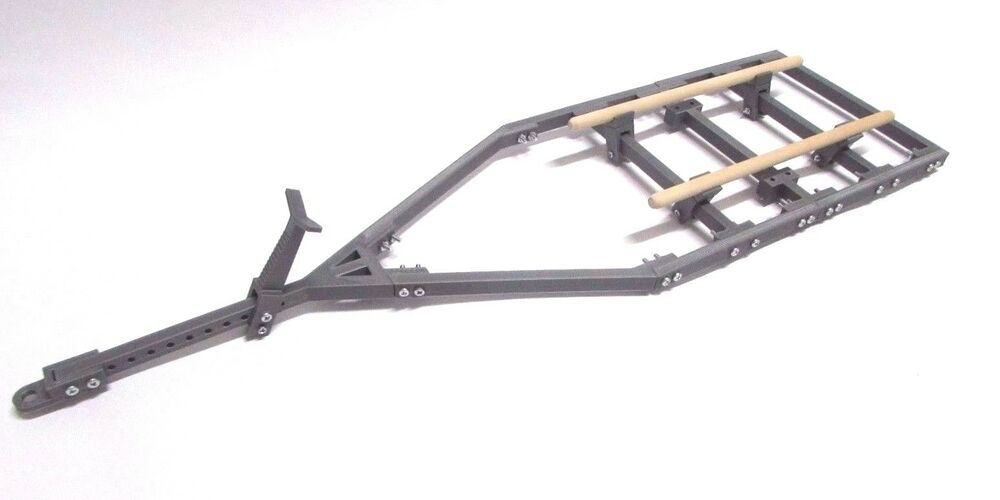 Trailer Frame Parts : Boat trailer frame only kit no wheels axle for rc