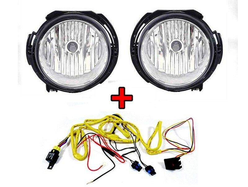 s l1000 2006 2011 chevy hhr replacement fog lights set with wire harness Chevy HHR Aftermarket Accessories at gsmx.co