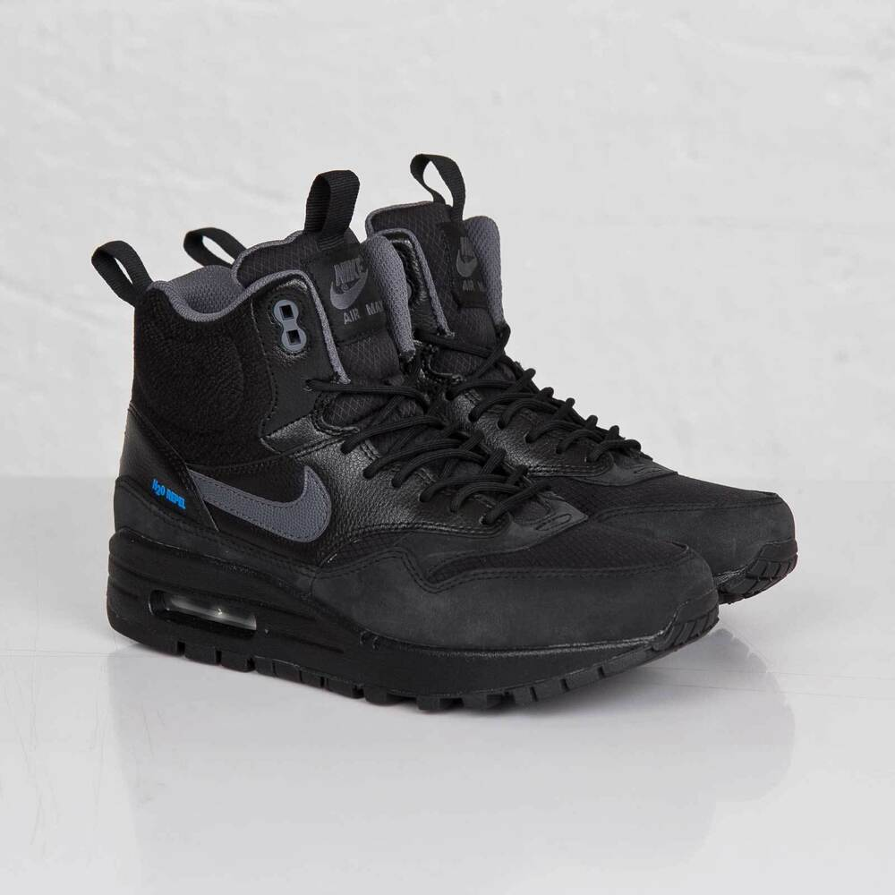 nike women 39 s air max 1 mid sneakerboot h2o repel ebay. Black Bedroom Furniture Sets. Home Design Ideas