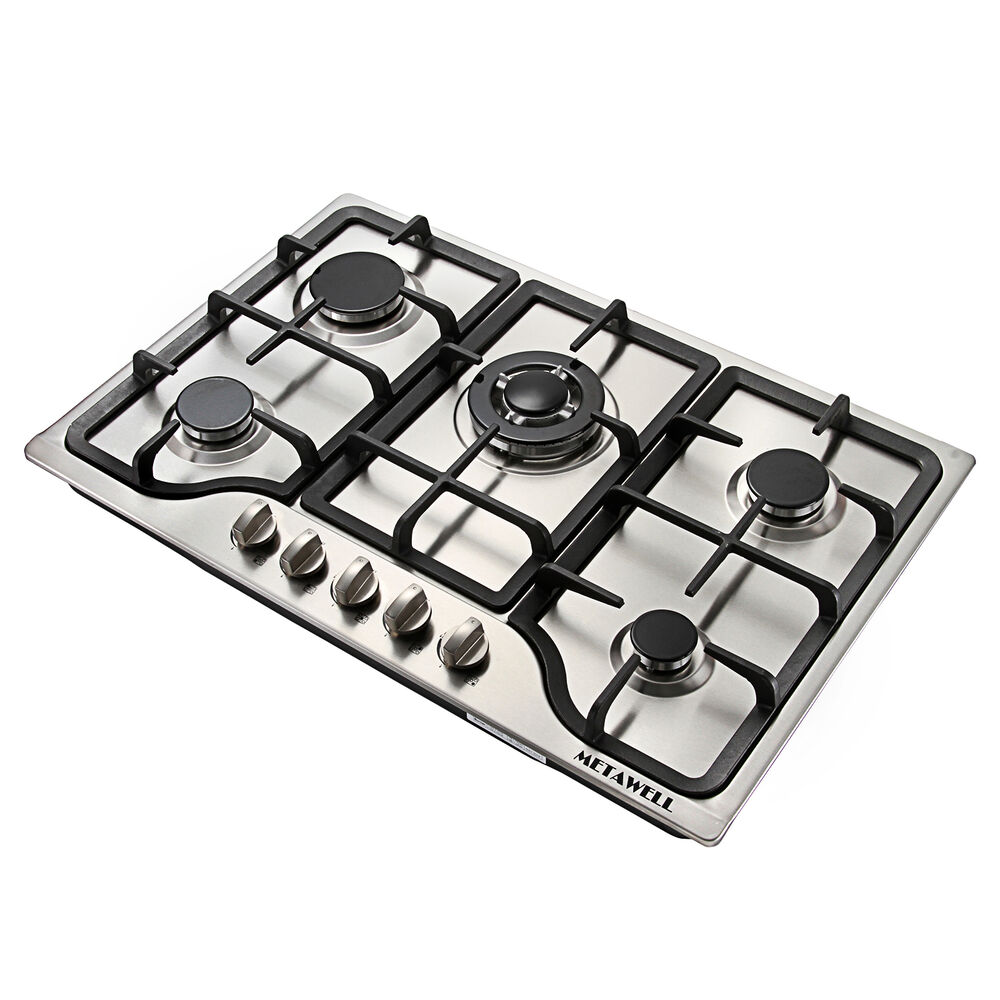 5 Burner Gas Cooktops